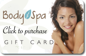 Body SPA gift card